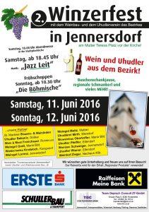 Winzerfest in Jennersdorf